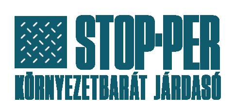 STOP-PER környezetbarát járdasó